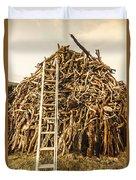 Sticks And Ladders Duvet Cover