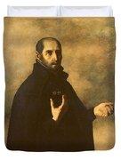 St.ignatius Loyola Duvet Cover by Francisco de Zurbaran