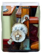 Still Life 3 Aboard Ship Duvet Cover