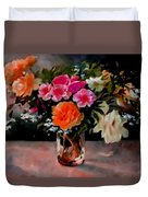 Still-life For Anne Catus 1 No.1 H B Duvet Cover