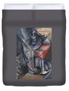 Still Life  Glass And Siphon Duvet Cover