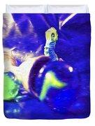 Still Life In Blue Duvet Cover