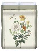 Still Life Of Flowers, Machtelt Moninckx, C. 1600 - C. 1687 Duvet Cover