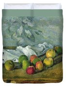 Still Life Duvet Cover by Paul Cezanne