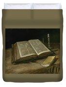 Still Life With Bible Nuenen, October 1885 Vincent Van Gogh 1853  1890 Duvet Cover
