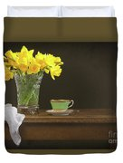 Still Life With Daffodils Duvet Cover