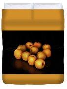 Still Life With Golden Apples Duvet Cover