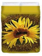 Still Life With Sunflower Duvet Cover