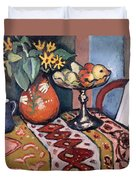 Still Life With Sunflowers II Duvet Cover