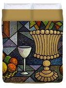 Still Life With Vase Duvet Cover