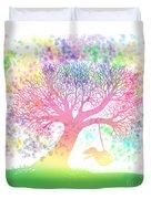 Still More Rainbow Tree Dreams 2 Duvet Cover