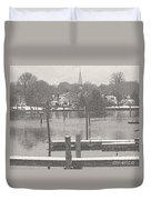 New England Peace Duvet Cover