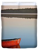 Still Water In Maine Duvet Cover
