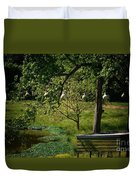 Stillness Of Spring Duvet Cover