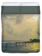 Stilt Fisherman Duvet Cover
