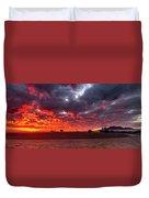 Stirling Ranges Sunrise Duvet Cover