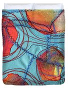Stitched Waterways 4  Duvet Cover