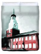 Stock Yards National Bank 537 2 Duvet Cover