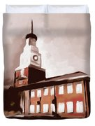 Stock Yards National Bank 537 4 Duvet Cover