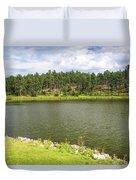 Stockade Lake In Custer State Park Duvet Cover