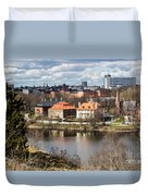 Stockholm From Skansen Duvet Cover
