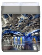 Stockholm Metro Art Collection - 003 Duvet Cover
