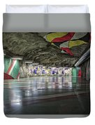 Stockholm Metro Art Collection - 012 Duvet Cover