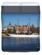 Stockholm Ship Duvet Cover
