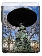Stockholm Statue Duvet Cover
