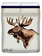 Stockholms' Moose Duvet Cover