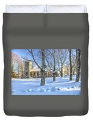 Stone Church At Cragsmoor Duvet Cover