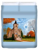 Stone Church Duvet Cover