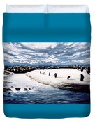Stone Delusion Duvet Cover