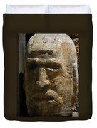 Stone Head Duvet Cover