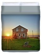 Stone House Sunrise Duvet Cover