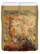 Stone Maps Duvet Cover