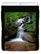 Stone Mountain Falls Duvet Cover
