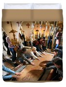 Stone Of Anointing Duvet Cover