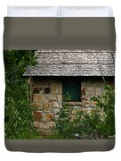Stone Outhouse 1 Duvet Cover