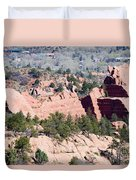 Stone Quarry In Red Rock Canyon Open Space Park Duvet Cover