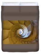 Stone Spiral Duvet Cover