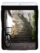 Stone Stairs Duvet Cover