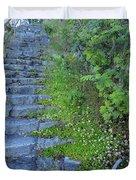 Stone Steps Duvet Cover