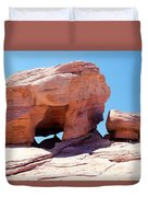 Stone Temple Valley Of Fire Duvet Cover