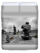 Stone Tower Duvet Cover