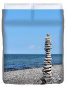 Stone Towers Duvet Cover