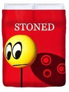 Stoned Duvet Cover