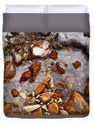 Stones And Ice Duvet Cover
