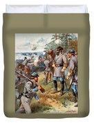 Stonewall Jackson, 1861 Duvet Cover