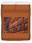 Stonewalled  Duvet Cover